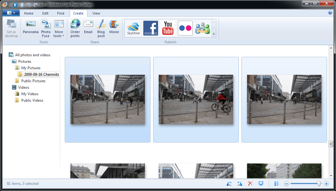 windows live photo gallery manual