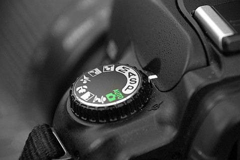 Aperture setting on Digital SLR camera